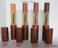 Fashion Fair Foundation Swatches FF Foundation Sticks Fashion