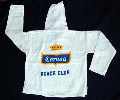 Natural color baja shirt with corona print - Fax caser bajas ...