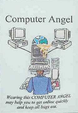 COMPUTER ANGEL PIN