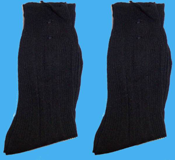 Hosiery-12-Pairs-Boys-Nylon-Dress-Socks-Black-Sizes-S-M-L-E00020B
