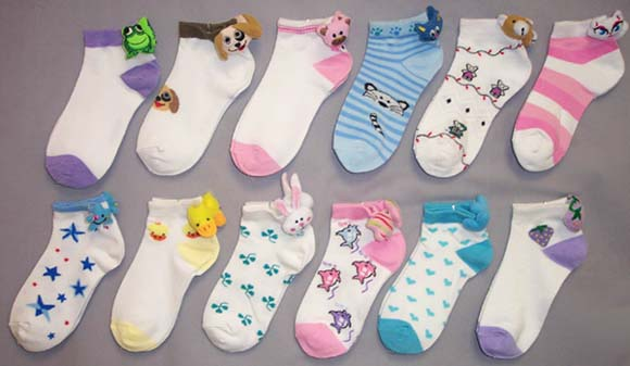 Wholesale-Lot-1Dz-Girls-Fashion-Crew-Socks-Animal-Heads-Size-S-XL-E000421