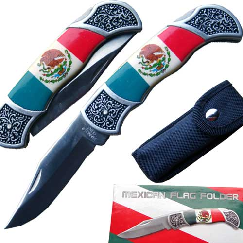 Fletcher Anderson's Mexican Flag folding knife at Sears.com
