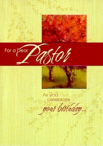 Happy Birthday Pastor