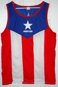 PUERTO RICO ''FLAG'' JERSEY (ADULT SIZE)