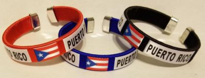 PUERTO RICO FLAG BANGLE
