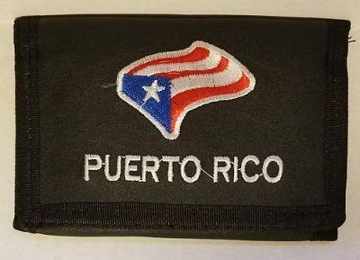 PUERTO RICO ''FLAG'' WALLET