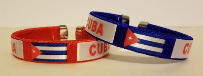 CUBA FLAG BANGLE