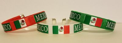 MEXICO FLAG BANGLE