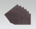 6-piece Set: Vinyl Stain-resistant Placemats COFFEE