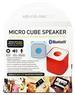 Bluetooth Smart Cube SPEAKER with Selfie Shutter