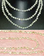 Fresh Water PEARL Long Necklace - White Irregular Shape