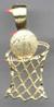 BASKETBALL Hoop Charm