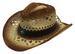 Woven Straw WESTERN Cowboy Hat