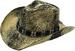 Black-Stained WESTERN Style Cowboy Hat