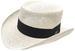 Men's Gambler STRAW HATs w. Black Band