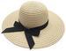 Ladies Wide Brim Sun Hats w. Bow TIE