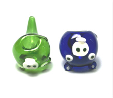 Glass Angry bird pipe
