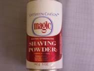Magic Shaving Powder- Red  5oz