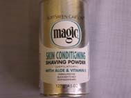 Magic Shaving Powder Platinum  4.5oz
