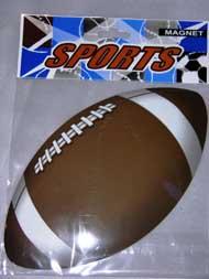 Car Magnetic - FOOTBALL - #11977 or JCN0041B