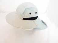 FISHING Hat w/ Cover-Grey-#GJBH-003