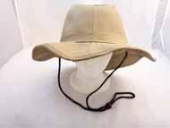 FISHING Hat w/Shade -Khaki-#GJBH-002
