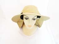 FISHING Hat-Khaki  #GJBH-003