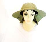 FISHING Hat-Olive  #GJBH-003