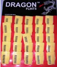 Dragon Flints - 6 Flints/pack - #BUT019
