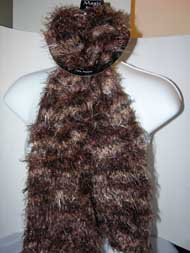 Magic Scarf - CANDY/Popcorn - Brown Multi - CLOSEOUT- #R608G032C