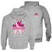 PEACE FROGS CELEBRATE LIFE HOODED PULLOVER SWEATSHIRT