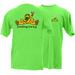 PEACE FROGS FEELING LUCKY SHORT SLEEVE T-SHIRT