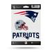 NEW ENGLAND PATRIOTS TRIPLE SPIRIT STICKERS BY RICO