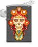 Custom Design Skull PENDANT Iron stone matte