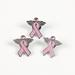PINk Ribbon Breast Cancer Awareness ANGEL PINs ( per dozen )
