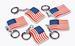 set lot of  --  144 total 2''  U.S. Patriotic Flag KeyChains- NEW!