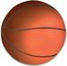 '' BASKETBALL '' CAR MAGNETIC DECAL MAGNET - NEW ITEM!