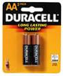 Duracell AA2 BATTERIES