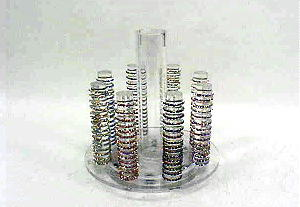 CRYSTAL STRETCH TOE RINGS