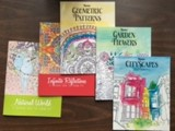 COLORING BUNDLE BOOKS AND PENCILS