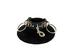LEATHER Snap LG Ring Deluxe Ch