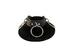 LEATHER Large Ring Choker