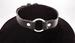 LEATHER Large Ring Choker.