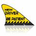 MAGNETIC CAR FLAG , CARFIN NEW driver , NEW Driver