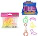 GLOW IN THE DARK PRINCESS SILLY RUBBER BAND BRACELETS