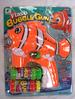 LIGHT UP CLOWN FISH  BUBBLE GUN WITH SOUND