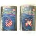 AMERICAN FLAG SHAPED EMBROIDERED PATCHES