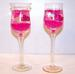I LOVE YOU TALL WINE GLASS CANDLES - NOW ONLY 50 CENTS EACH