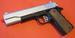 Full Metal Body Silver Slide Spring Pistol w/Open Ejection Port