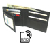 RFID Protection Lambskin LEATHER WALLET Black $2.95 up